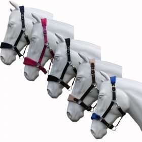 Horses on Grey Gray with Fence Fleece Scarf