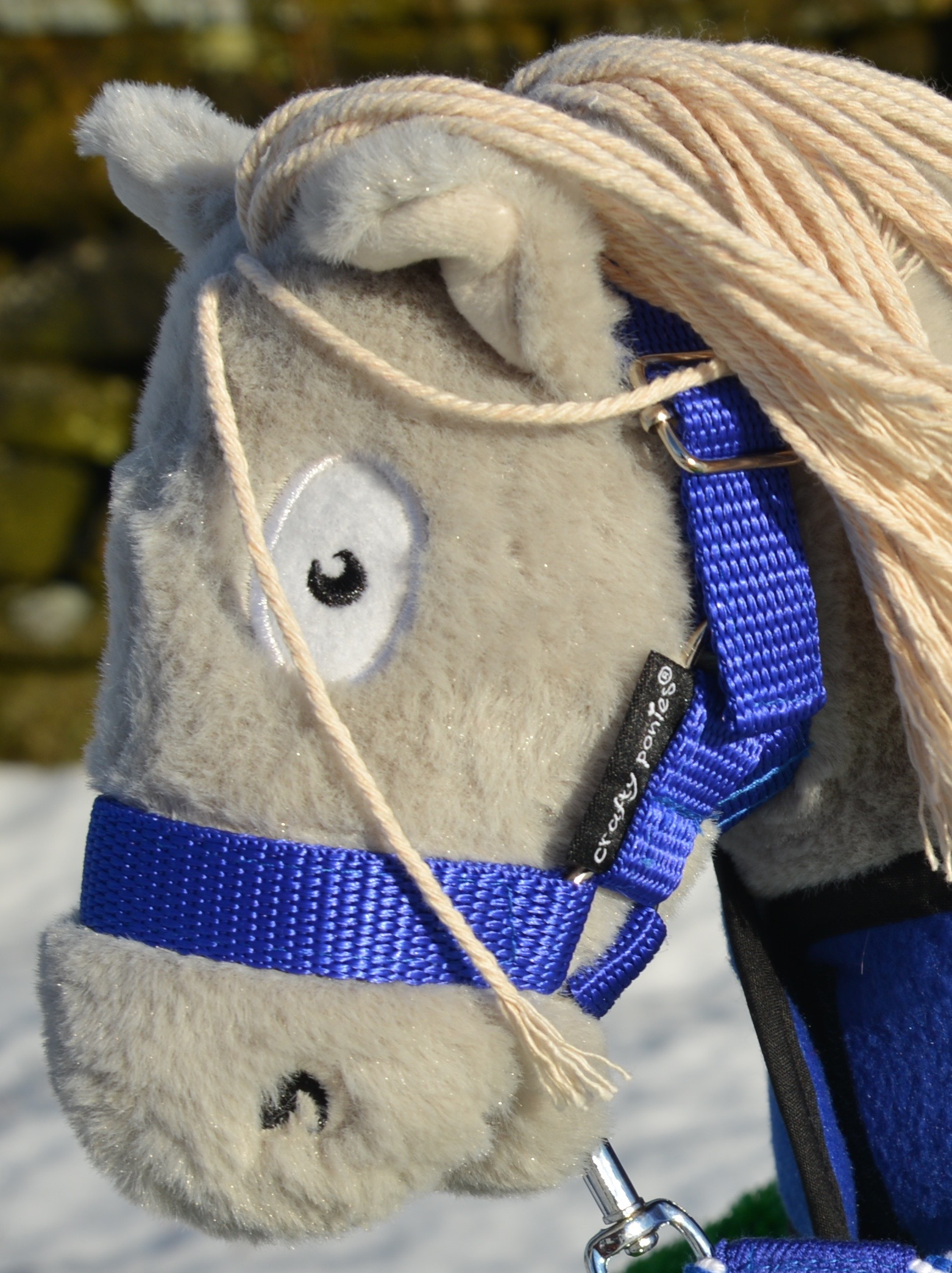 Crafty Ponies Headcollar Eileen Douglas Tack Shops Ltd