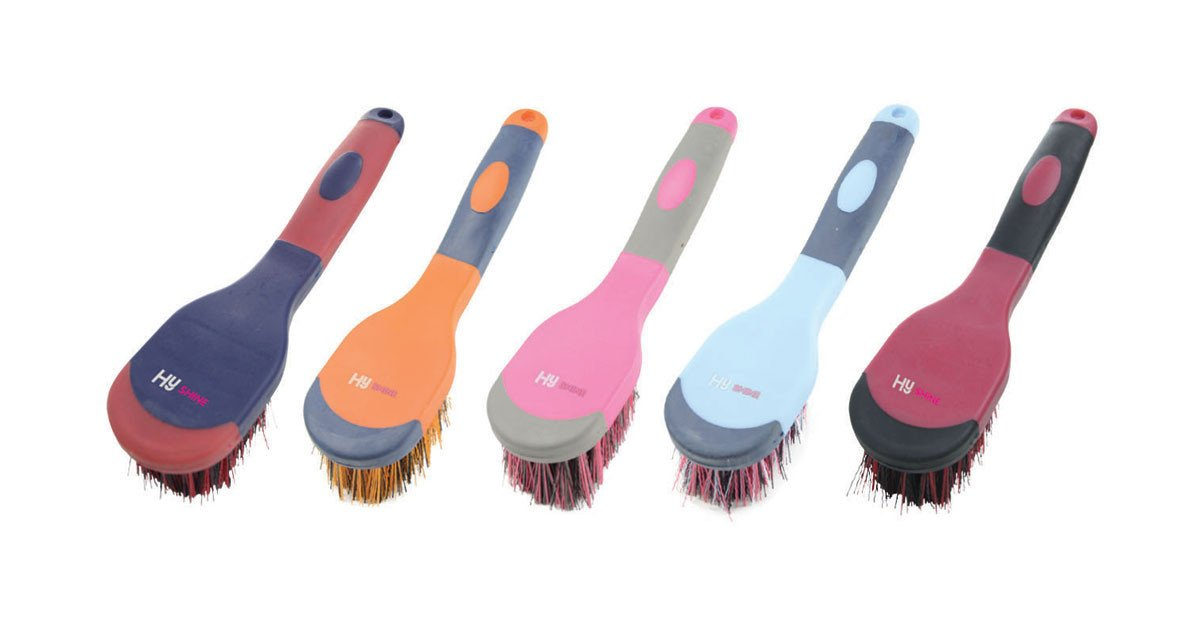 HySHINE Active Groom Bucket Brush