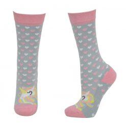 HyFashion Unicorn Socks Adult - Image