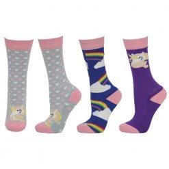 Hyfashion Unicorn Socks Child - Image