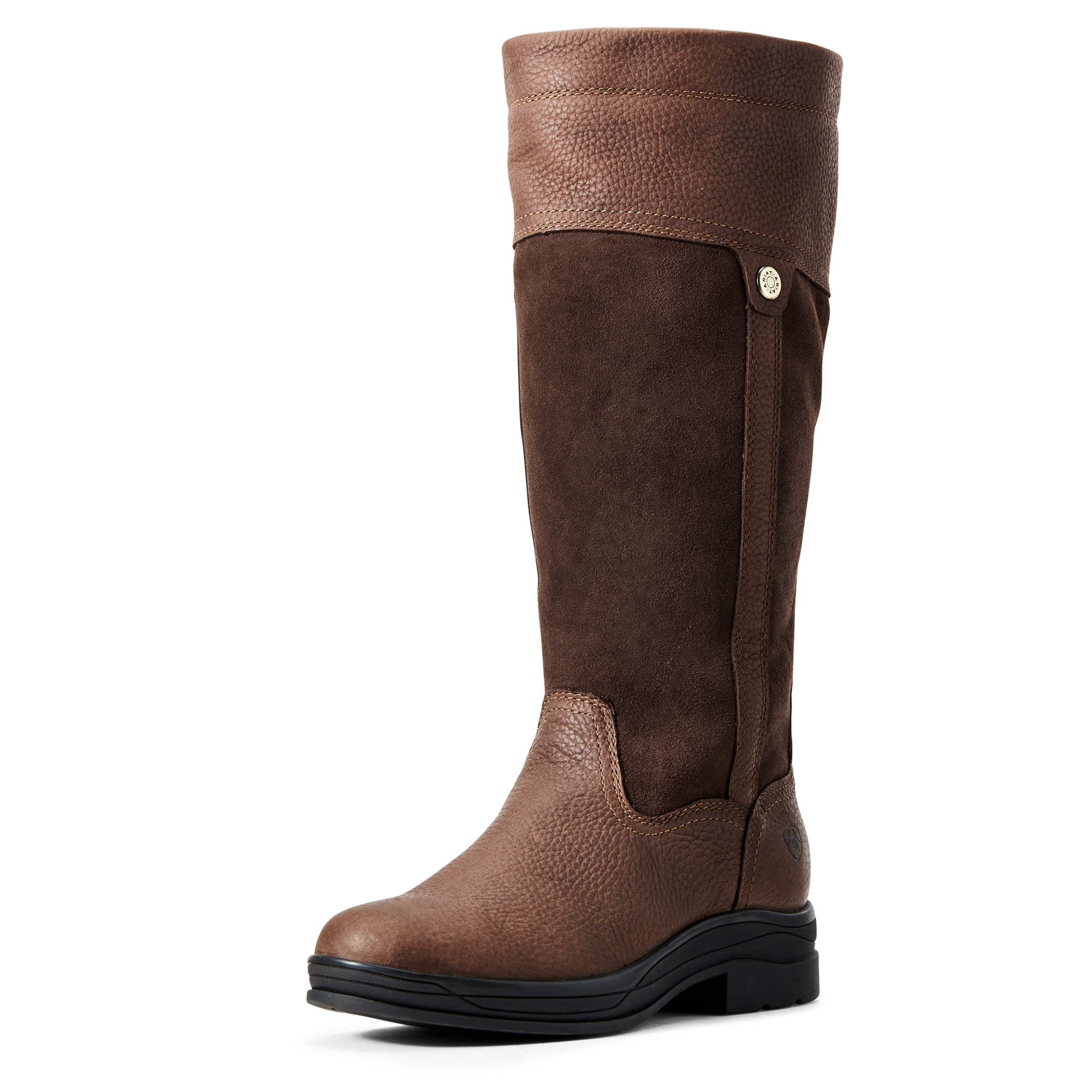 New Ariat Womens Windermere II Long Boots In Brown Various Sizes
