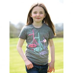 Horseware Girls Bridle Tee 3-4 Yrs - Image