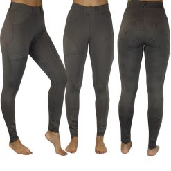 EDT Topaz Silicon Full Seat Riding Tights - Image