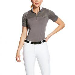 Ariat Womens Airway 1/4 Zip Show Shirt - Image