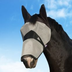 KM ELITE FLY MASK WITH NOSE - Image