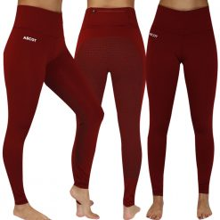 EDT EMERALD RIDING TIGHTS - Red