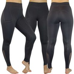 EDT Tamar/Avon Full Seat/Knee Patch Riding Tights - Image