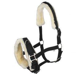 QHP Fur Lunging Caveson Halter - Image