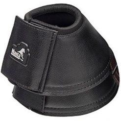 Masta Leather Look Overreach Boot - Black
