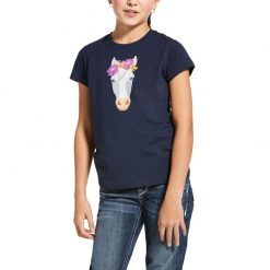 ARIAT UNISEX YOUTH FLOWER CROWN SHORT SLEEVE TOP - Image