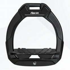 FLEX-ON SAFE-ON JUNIOR SAFETY STIRRUPS - BLACK/BLACK/BLACK - Image